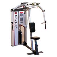Poste pectoraux et épaules Bodysolid Club Line Pec Fly Rear Delts 75 kg
