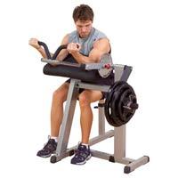Poste pour les bras BODYSOLID Biceps et Triceps Machine CBT380