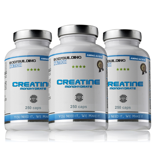 BodyBuilding Nation Trio Creatine Monohydrate