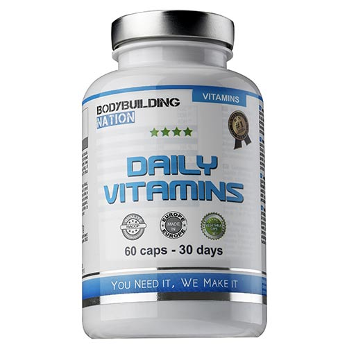 Complements Energetiques BodyBuilding Nation Daily Vitamins Complex