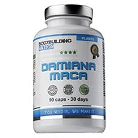 Complements Energetiques BodyBuilding Nation Damiana Maca