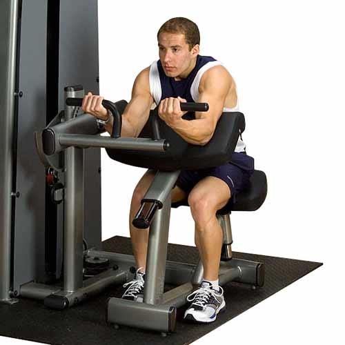 Poste pour les bras OPTION Double poste Biceps Triceps BODYSOLID PRO ... b12f05ef9f3
