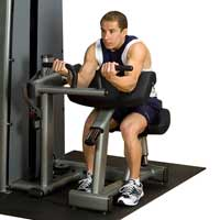 Poste biceps et triceps OPTION Double poste Biceps Triceps