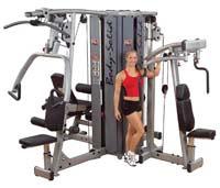 Appareil de musculation Bodysolid Pro Dual Tour pour 4 Stations (non incluses)