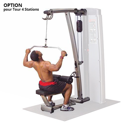 Bodysolid Pro Dual OPTION EXTENSION PRO DUAL LAT MID-ROW