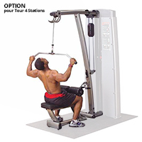 Poste dos et lombaires Bodysolid Pro Dual Option Extension Pro Dual Lat Mid Row Reconditionné