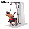 Poste dos et lombaires BODYSOLID PRO DUAL OPTION EXTENSION PRO DUAL LAT MID-ROW