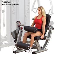 Postes isolés OPTION Double poste Leg Extension & Curl