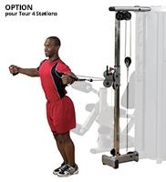 Appareil de musculation Bodysolid Pro Dual Option Double poste Colonne à Cables