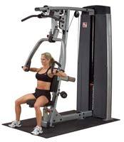 Poste Pectoraux et Épaules Bodysolid Pro Dual Double Poste Presse à Bras et Tirage Dorsal