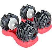 Réglables Bodysolid Paire EZ Dumbells 25 kg