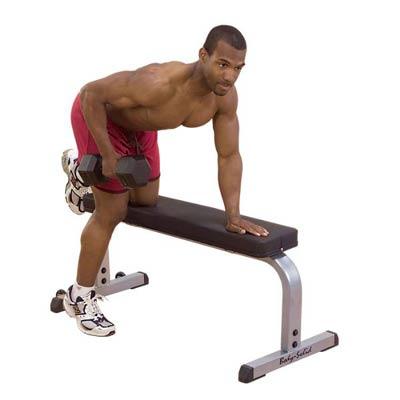 Banc De Musculation Banc Plat Bodysolid Fitnessboutique