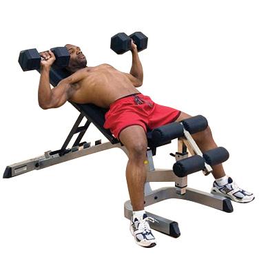 Banc De Musculation Banc Inclinédécliné Bodysolid Fitnessboutique