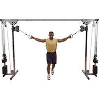 Poste Pectoraux et Épaules Cable Cross Over 2x75kg