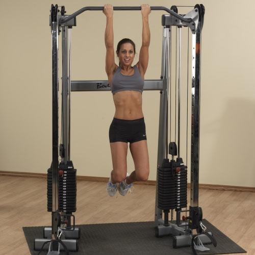 Bodysolid Centre D'entraînement à cables Compact