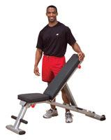Banc de Musculation Banc pliable multi-fonctions Bodysolid - Fitnessboutique