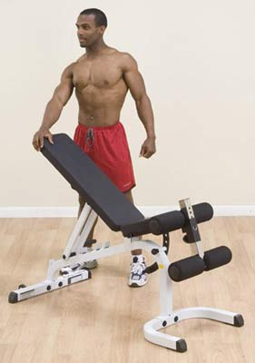 Bodysolid Banc Plat Incliné Décliné