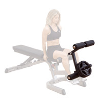 Banc de musculation BODYSOLID Option leg pour BODGFID31