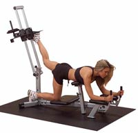 Poste cuisses et mollets POWERLINE Glute Master