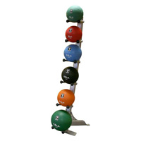 Médecine Ball - Gym Ball Bodysolid Rack 6 Medicines Balls