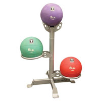 Médecine Ball - Gym Ball Bodysolid Rack 3 Medicines Balls