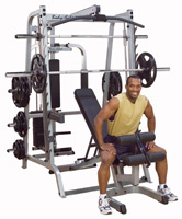 Smith Machine et Squat Bodysolid Smith Serie 7 Full Option