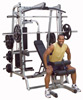 Smith Machine et Squat Smith Serie 7 Full Option Bodysolid - Fitnessboutique