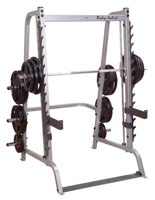 Poste pectoraux et épaules BODYSOLID Machine Smith série 7 base