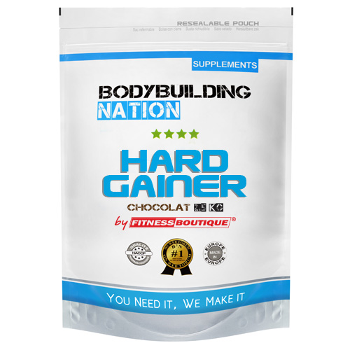 Kettlebell Training 20 Kcal Per Minuut: BodyBuilding Nation Hard Gainer Chocolat