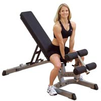 Banc de musculation Banc incliné/décliné Bodysolid - Fitnessboutique