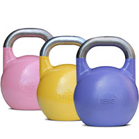 Kettlebells Compétition 28 Kg Orange Bodysolid - Fitnessboutique