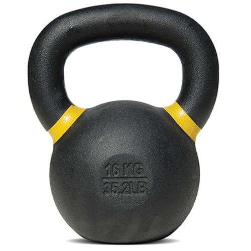Bodysolid Kettlebell 16 kg Black - Yellow