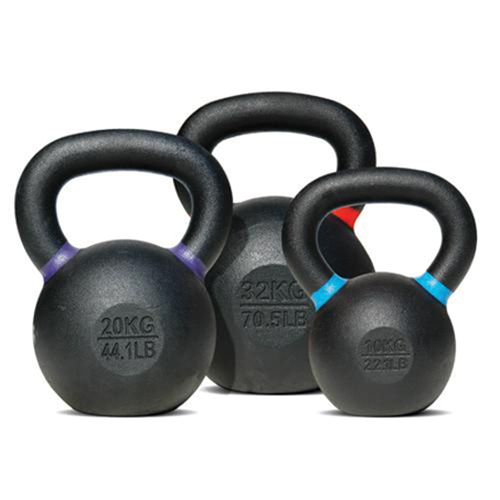 Bodysolid Kettlebell 12 kg Black - Blue