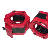 Musculation Bodysolid Pro Lock Jaw Collar Red/Black