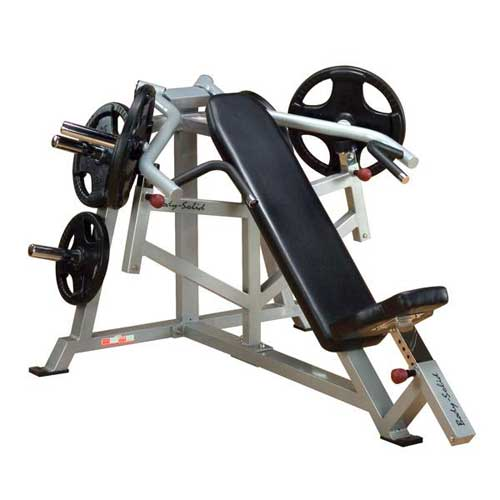 Bodysolid Club Line Pro Average Banc Incliné Presse à Bras