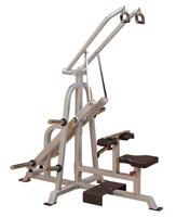 Poste Dos et Lombaires Tirage dos Leverage Bodysolid Club Line - Fitnessboutique