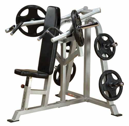 Détails Bodysolid Club Line Press Bench Shoulder Développé Epaules Leverage