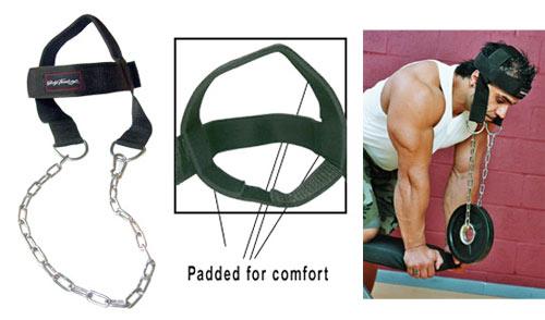 Accessoires de Tirage Bodysolid Nylon Head Harnass