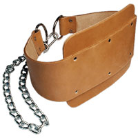 Accessoires de Tirage Bodysolid Leather Dipping Belt