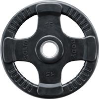 Musculation BODYSOLID Disque olympique caoutchouc 15kg