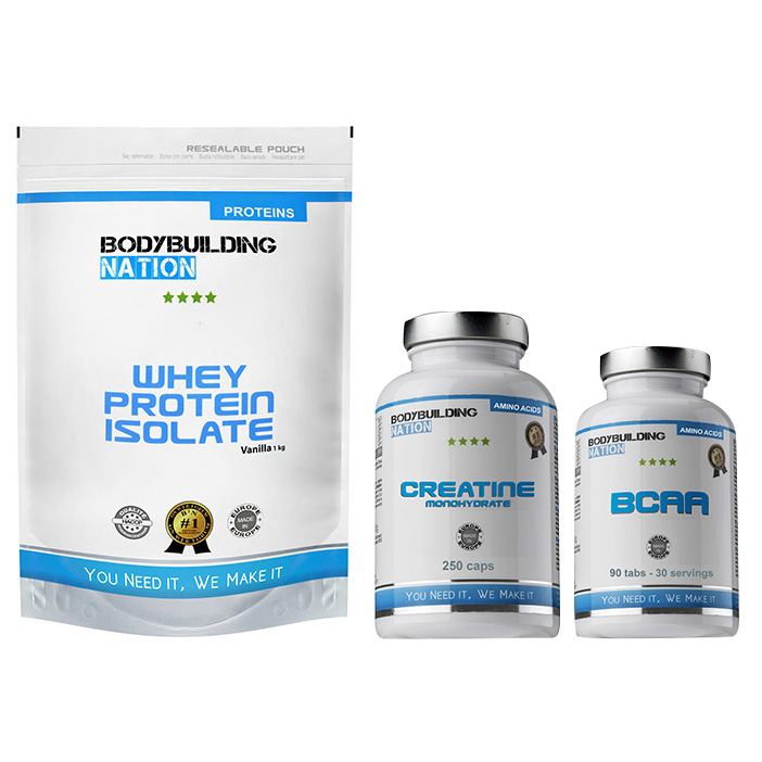BodyBuilding Nation Pack Muscle Isolate