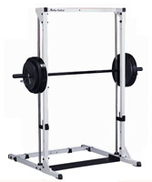 Cage à squat Bodysolid Power center base et guidage