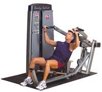 Poste pectoraux et épaules Bodysolid Pro Dual Double poste Pectoraux/Epaules