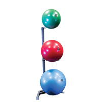 Médecine Ball - Gym Ball Bodysolid Rack 3 Stability Balls