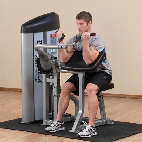 Bodysolid Club Line Arm Curl 105 kg