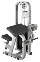 Poste Biceps et Triceps Bodysolid Club Line Biceps Curl Pro