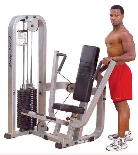 Bodysolid Club Line Chest Press Machine