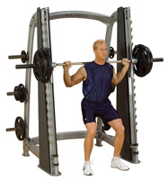 Smith Machine Bodysolid Club Line Counter Balanced Smith Machine