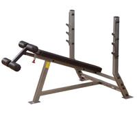Banc de musculation Bodysolid Club Line Banc developpé décliné olympique