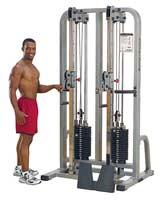 Appareil de musculation Bodysolid Club Line Double Colonne à Cable PRO
